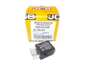 Relay 12V micro High Capacity ( Black ) JCB 3CX 4CX