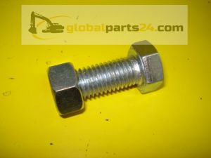 Bolt and nut - 3CX 4CX JCB