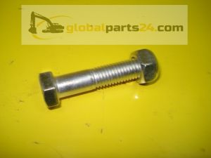 Bolt and nut for teeth / JCB MINI