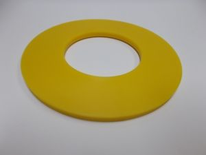 Spacer Yellow, 50.75 Borex 4.5 mm Thick