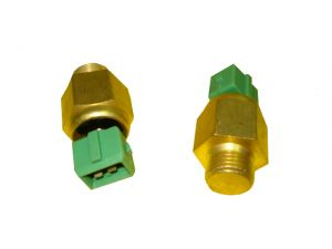 "Switch oil temp 5/8""UNF AMP connector 3CX 4CX JCB"