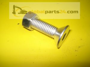 Bolt and nut for teeth / JCB MINI - one-sided