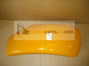 Fender front right hand yellow, 343mm wide 3CX JCB