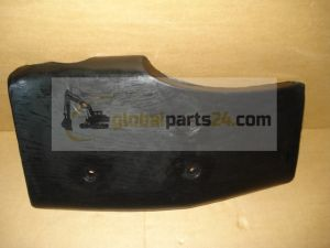 Fender front left hand black, 420mm wide