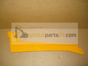Rail bonnet, upper LH yellow 3CX 4CX JCB