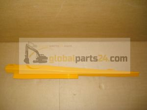 Rail bonnet, lower LH yellow 3CX 4CX JCB