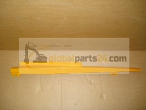 Rail bonnet, lower RH yellow 3CX 4CX JCB