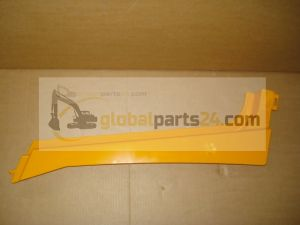 Rail bonnet, upper RH yellow 3CX 4CX JCB