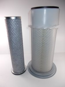 INNER AND OUTER AIR FILTERS TURBO 3CX 4CX JCB
