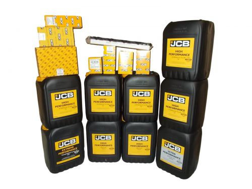 Set filters and oils JCB 3CX 4CX 2013-  UP 10W30 HP32