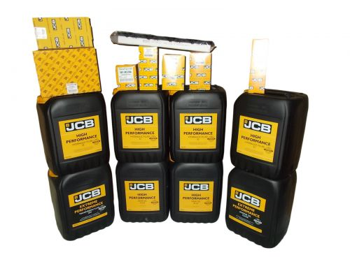 Set filters and oils JCB 3CX 4CX 2006 - 2012 15W40 HP32