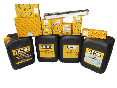 Set filters and oils JCB 3CX 4CX 2013-  UP 10W30