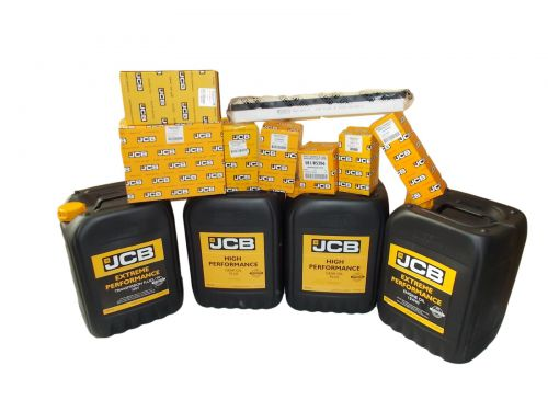 Set filters and oils JCB 3CX 4CX 2006 - 2012 15W40